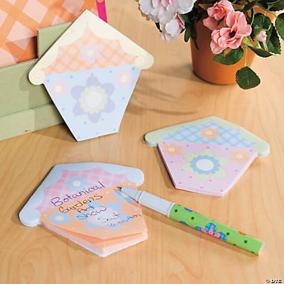 Spring Birdhouse Sticky Notes