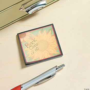 Sunflower Sticky Notes