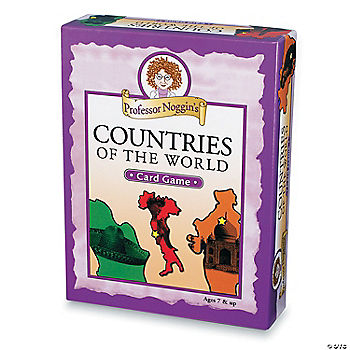 Professor Noggin S Countries Of The World Card Game