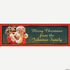 Personalized Old St. Nick Banners