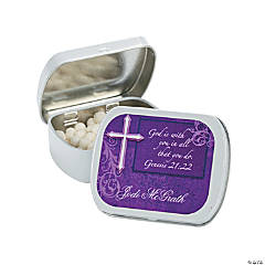 Personalized Inspirational Mint Tins