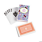 12 Personalized Sweet Treat Playing Card Decks