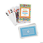 12 Personalized Kaleidoscope Playing Card Decks
