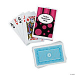 12 Personalized Simply Sassy Playing Card Decks