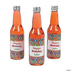 Personalized Kaleidoscope Bottle Labels