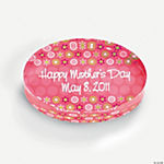 Personalized Darling Daisy Oval Paperweight