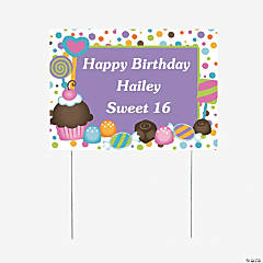 Personalized Sweet Treat Yard Sign