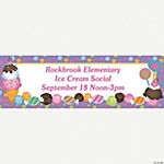 Personalized Sweet Treat Banner - Small