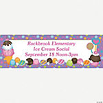 Personalized Sweet Treat Banner - Medium