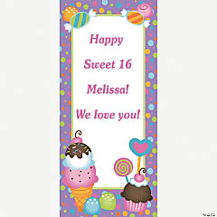 Personalized Sweet Treat Door Banner