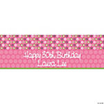 Personalized Darling Daisy Banner - Small