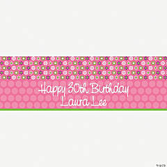 Personalized Darling Daisy Banner - Medium