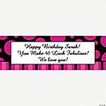 Personalized Simply Sassy Banner - Small