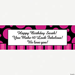 Personalized Simply Sassy Banner - Large