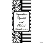 Personalized Classic Black & White Door Banner
