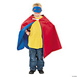 LESS THAN PERFECT: Boy's Superhero Cape & Mask