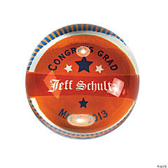 Personalized Award Dome Paperweight