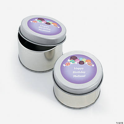 Personalized Sweet Treat Tins