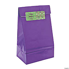 Personalized Darling Daisy Gift Bags With Stickers