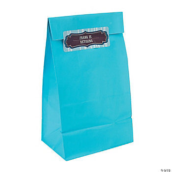 Personalized Touch Of Tradition Gift Bags With Stickers