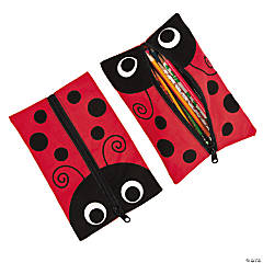 Ladybug Pencil Cases