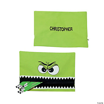 Personalized Monster Pencil Case