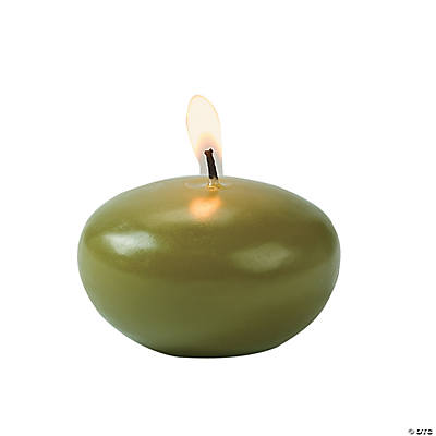Sage Green Floating Candles