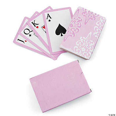 Cherry Blossom Wedding Playing Cards
