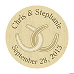Personalized Rustic Western Wedding Envelope Seals