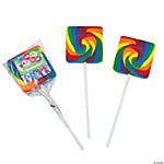 Personalized Birthday Present Swirl Pops