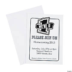 Personalized Homecoming/Team Spirit Invitations