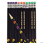 Halloween Skull Personalized Pencils