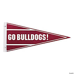 Burgundy Personalized Pennant Banner