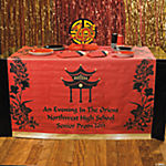 Personalized Asian Table Runner