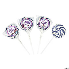 Personalized Slumber Party Swirl Pops