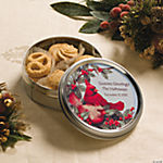 Cardinal Cookie Tins