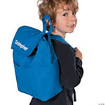 Personalized Blue Backpack