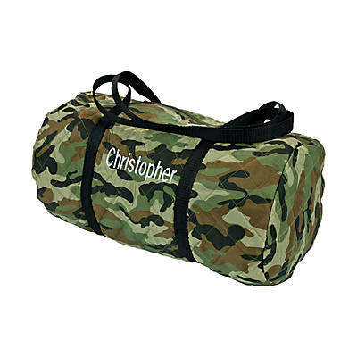 quickview · image of Personalized Camouflage Duffle Bag with sku:47/1924