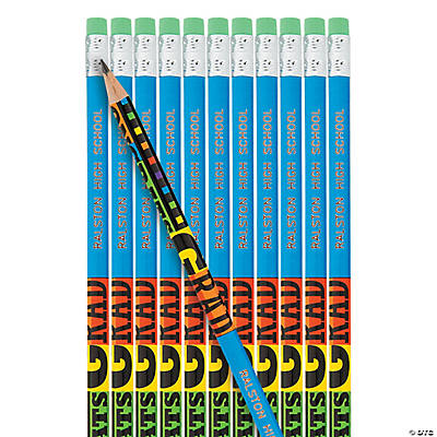 "Personalized ""Congrats Grad"" Pencils"