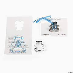 It's A Boy Cookie Cutter Cards