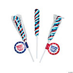 Personalized Patriotic Twist Pops