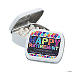 "Personalized ""Retirement"" Mint Tins"