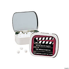 Personalized Movie Night Mint Tins