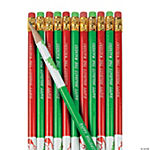 Personalized Holiday Pencils