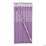 Personalized Purple Pencils
