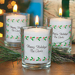 Christmas Votive Stickers