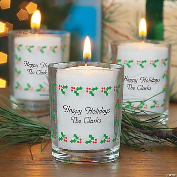 Holiday Votive Holders