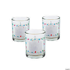Personalized Birthday Votive Holders