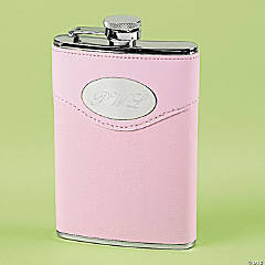 Flask With Pink Cover
