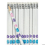 Personalized Flower Pencils